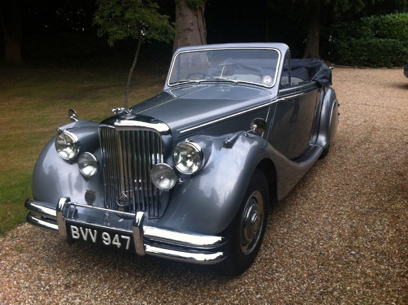 the Jaguar MK V Drophead Coupe