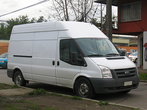 We have a choice of commercial vans