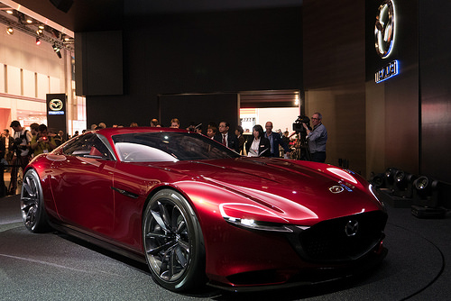 New Mazda launched at Tokyo Motor Show 2015