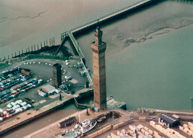Aerial photo of Grimsby