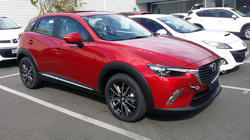 The Mazda CX-3 Model is in demand
