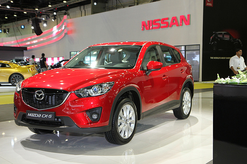 The sporty Mazda CX-5