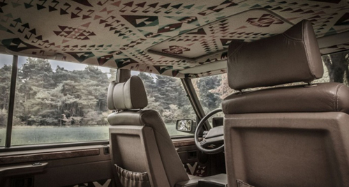 Range Rover conversion by Eva Kindler