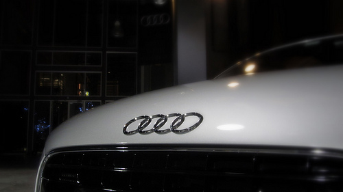 Audi Car Badge