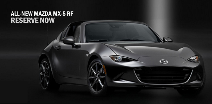 Latest Mazda sports car redefines concept of open top