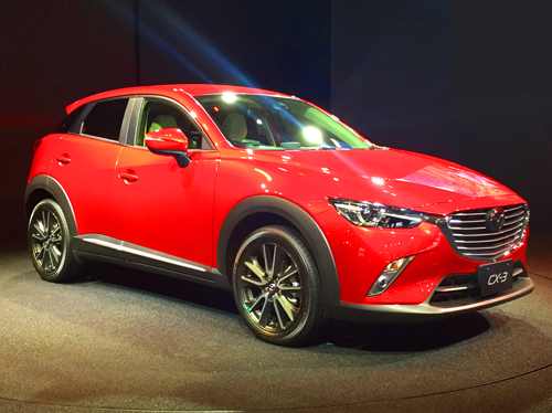 Affordable & practical SUV crossover - the Mazda CX-3