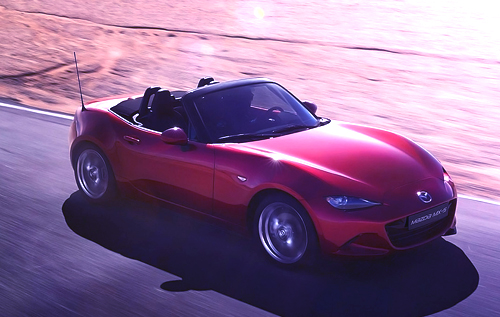 Mazda's latest MX-5 wows spectators at Goodwood