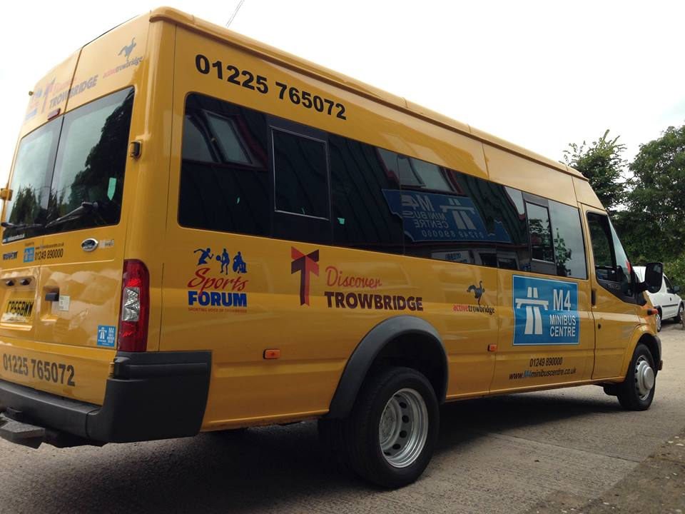 Yellow minibus