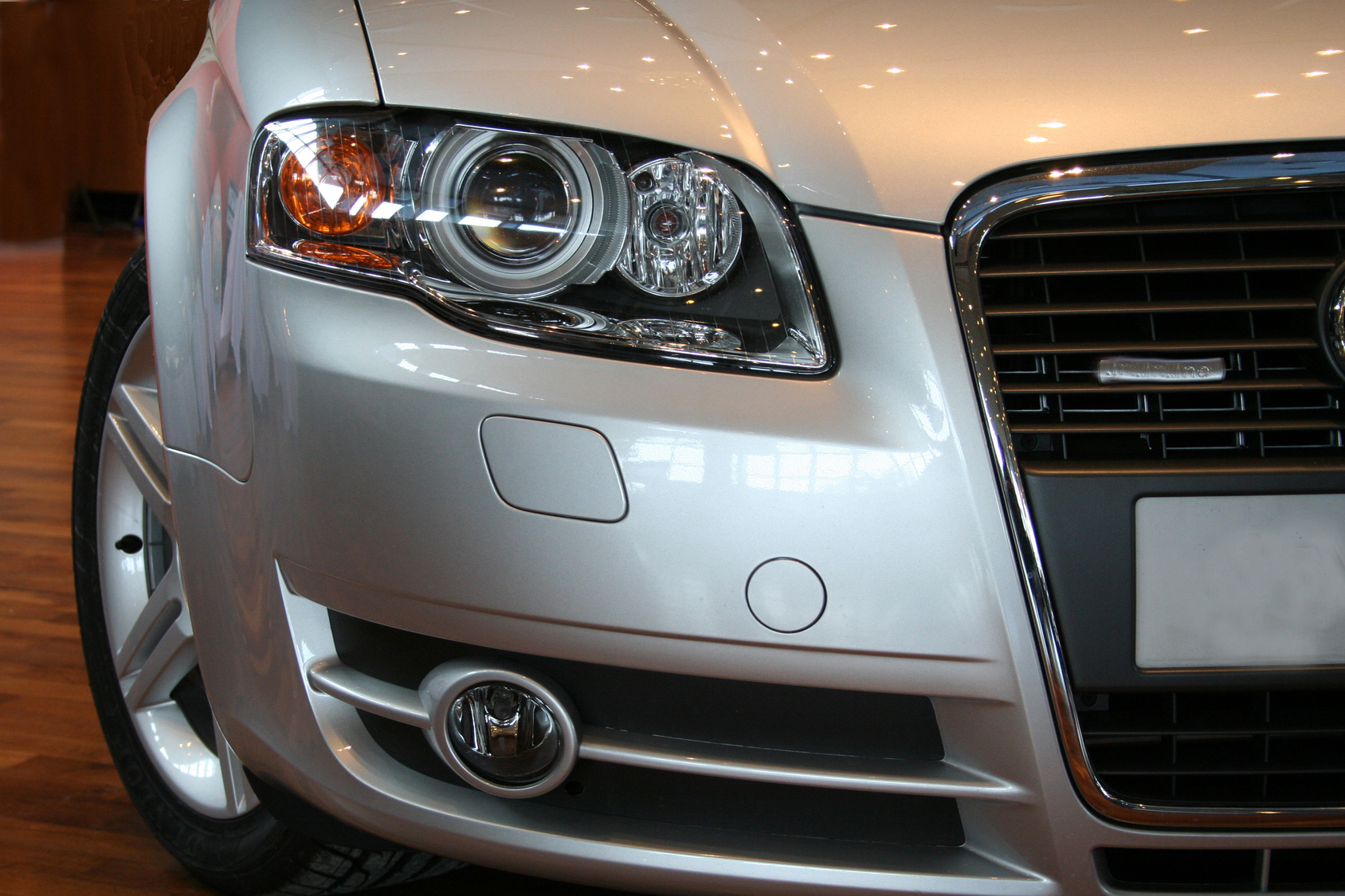 Audi front end