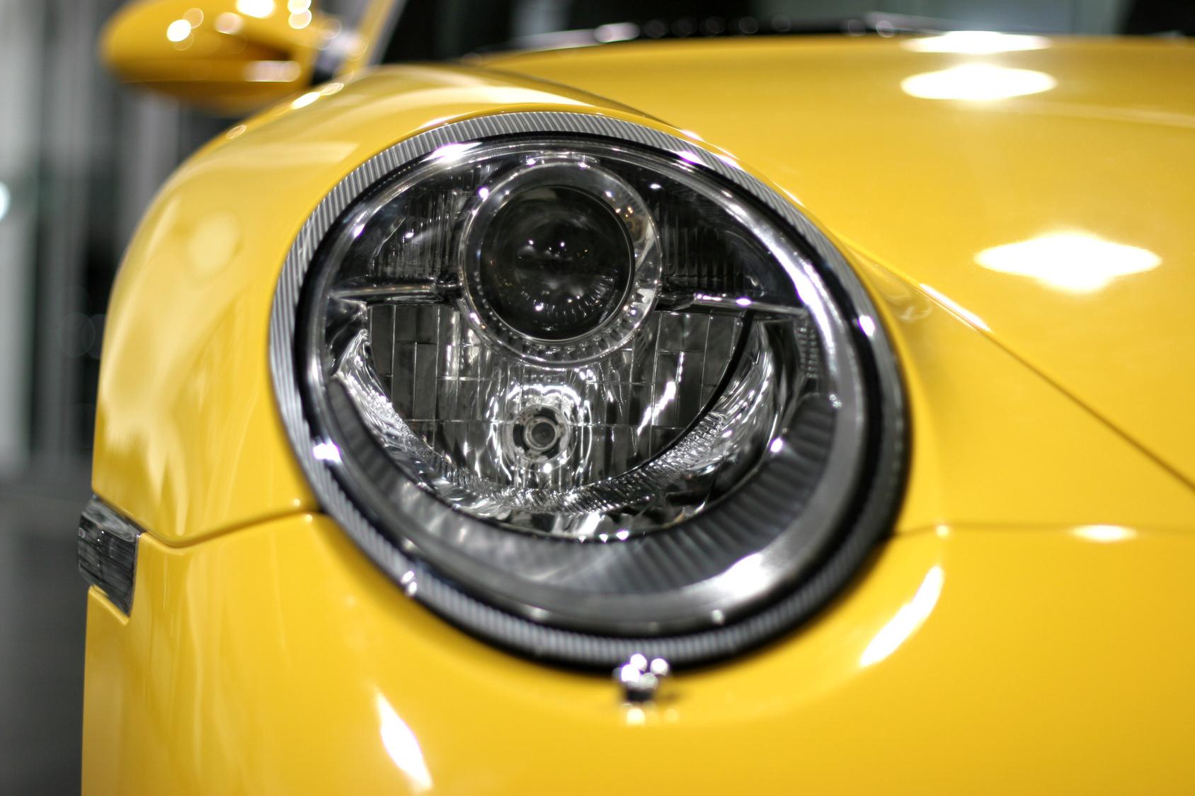 porsche headlight