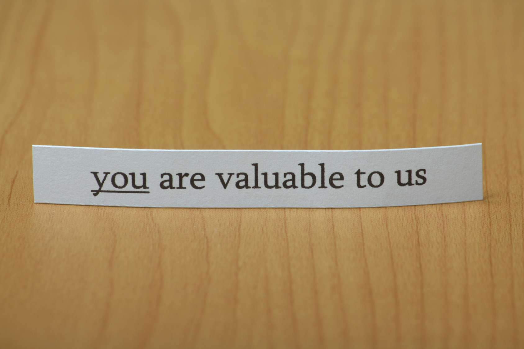 You are valuable note