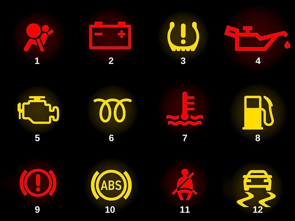 DASHBOARD WARNING LIGHTS WHAT DO THEY MEAN - Car signs on dashboardcar warning signs you should not ignore
