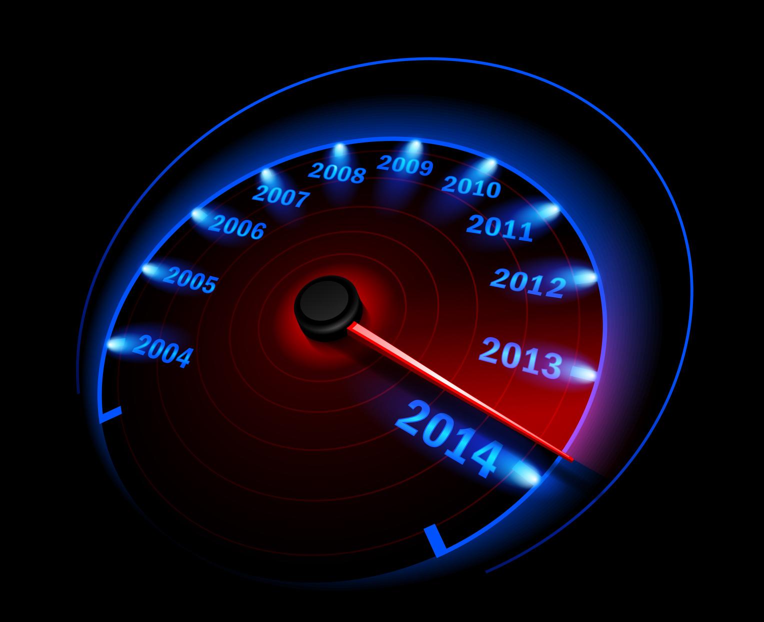speedometer to 2014