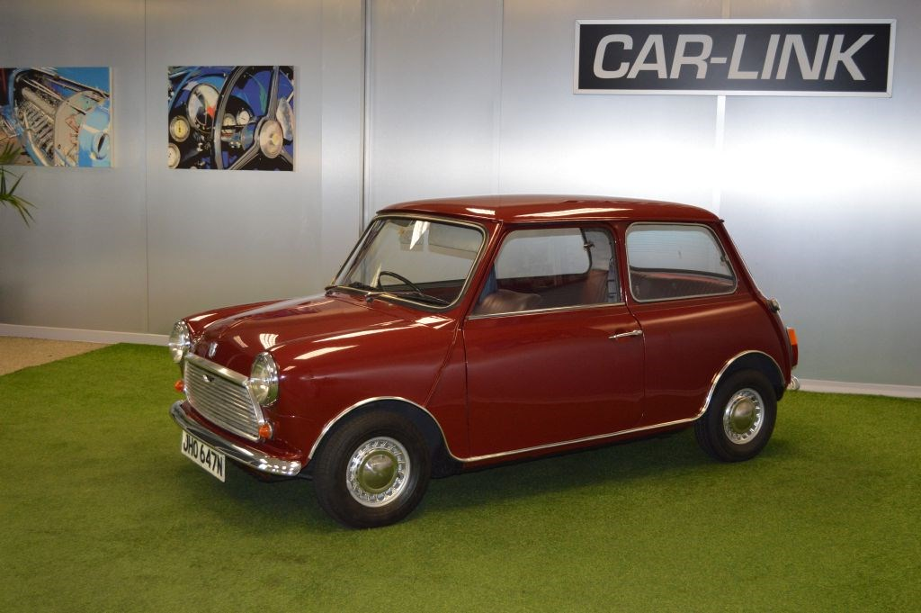 A red mini car from 1975