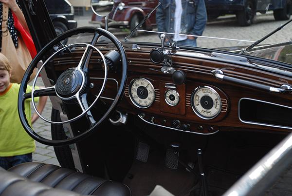 Old Audi interior