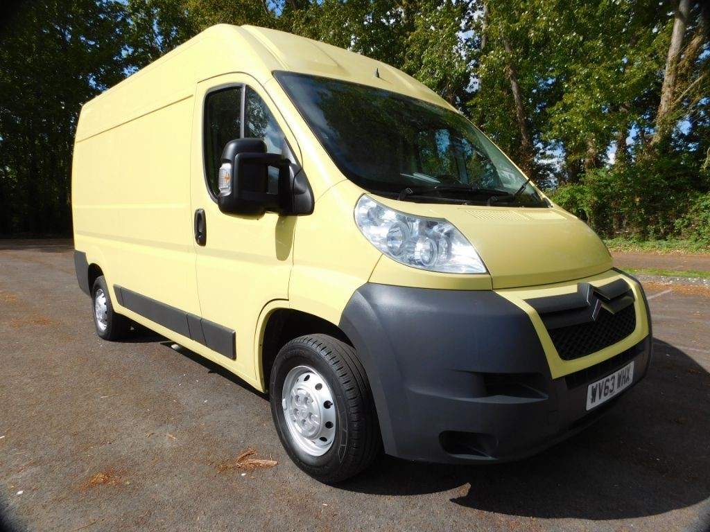 Previously Sold Used Vans Van World UK - Relay vehicle selection