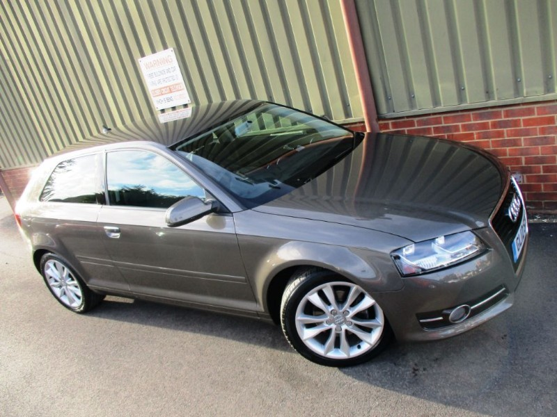 Used Dakota Grey Metallic Audi A3 For Sale Berkshire