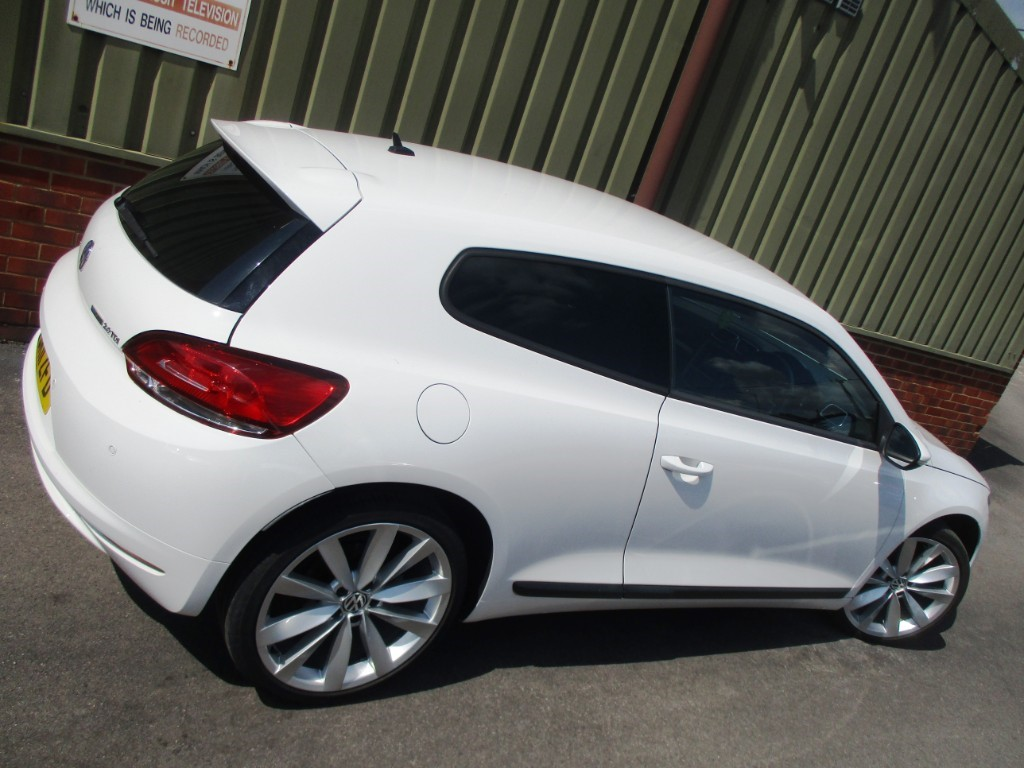 Used Candy White Vw Scirocco For Sale Berkshire