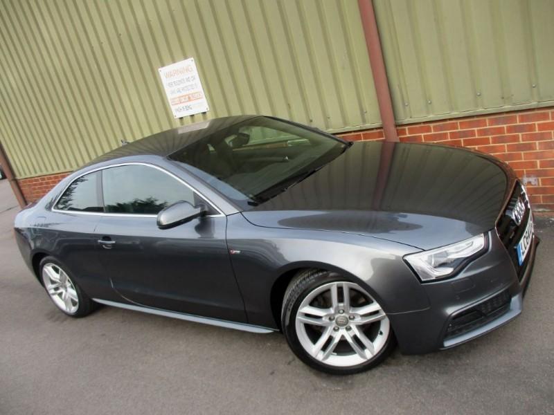 used Audi A5 TDI QUATTRO S LINE S/S in wokingham-berkshire