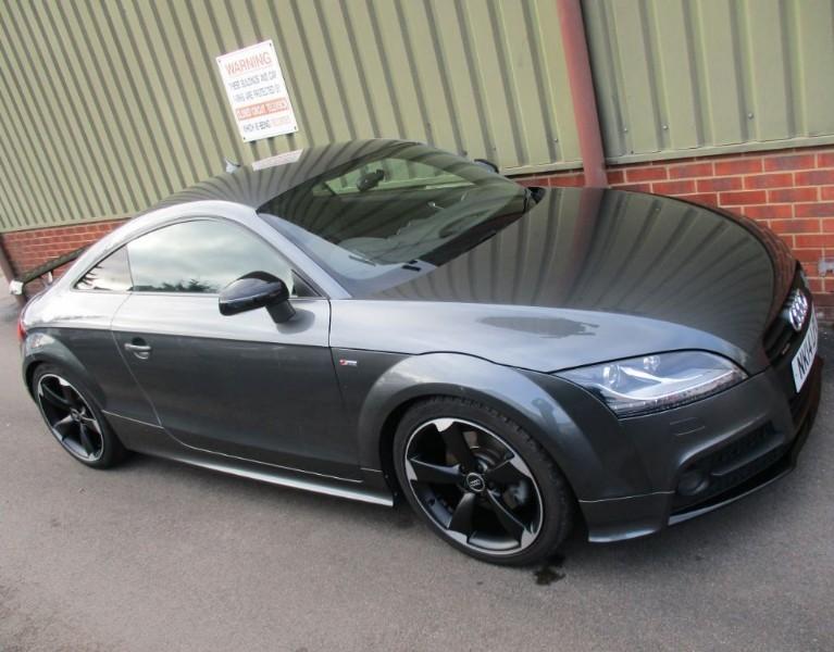 used Audi TT TDI QUATTRO Amplified BLACK EDITION in wokingham-berkshire