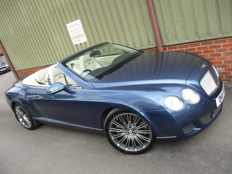 used Bentley Continental GTC SPEED in wokingham-berkshire