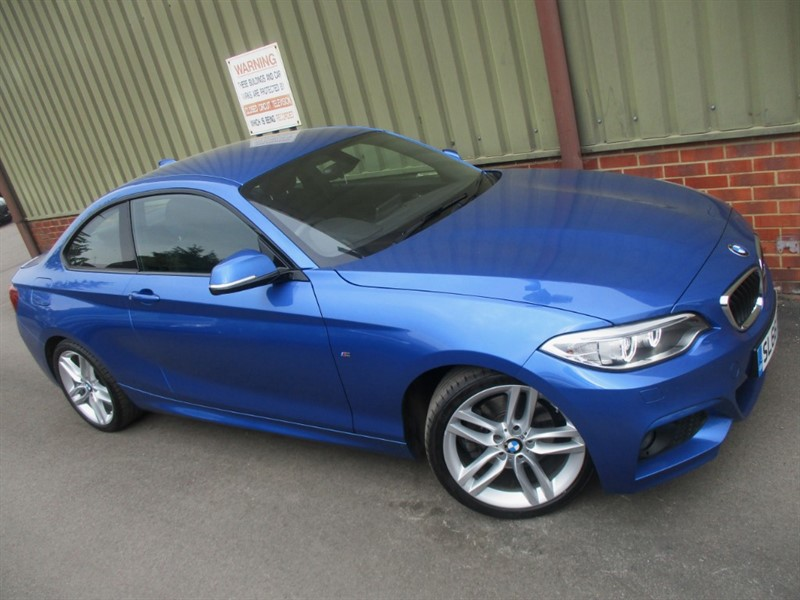 used BMW 220d M SPORT Coupe in wokingham-berkshire