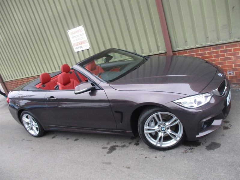 used BMW 435d XDRIVE 3.0 435 M SPORT Convertible Auto in wokingham-berkshire