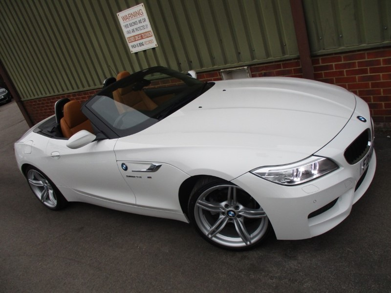 used BMW Z4 SDRIVE20I AUTOMATIC  M SPORT ROADSTER in wokingham-berkshire