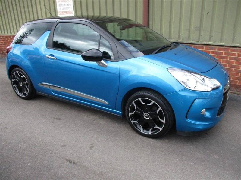 used Citroen DS3 DSTYLE  1.6 PLUS in wokingham-berkshire