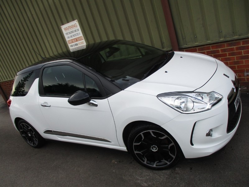 used Citroen DS3 E-HDI DSTYLE PLUS in wokingham-berkshire