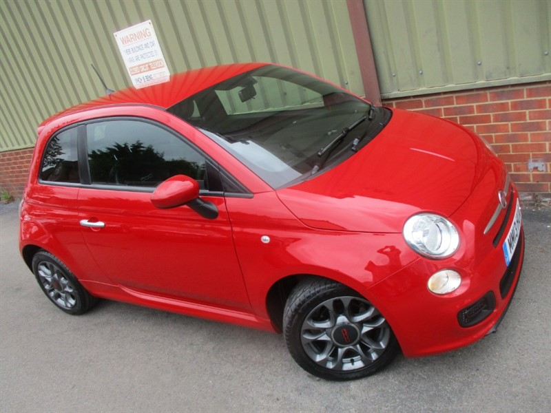 used Fiat 500 S in wokingham-berkshire