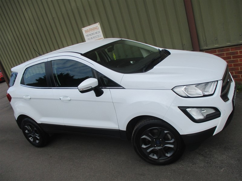 used Ford EcoSport 1.0 T EcoBoost  ZETEC in wokingham-berkshire