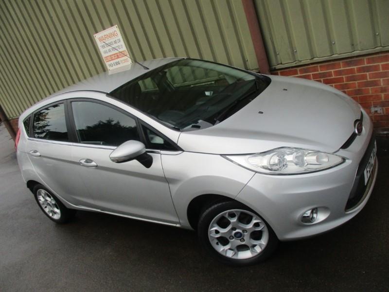 used Ford Fiesta ZETEC TDCI in wokingham-berkshire