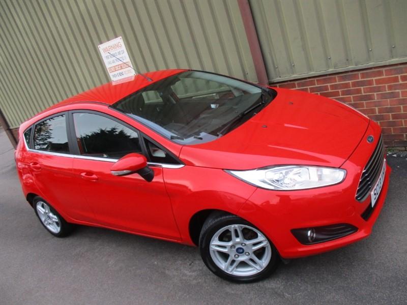 used Ford Fiesta ZETEC in wokingham-berkshire