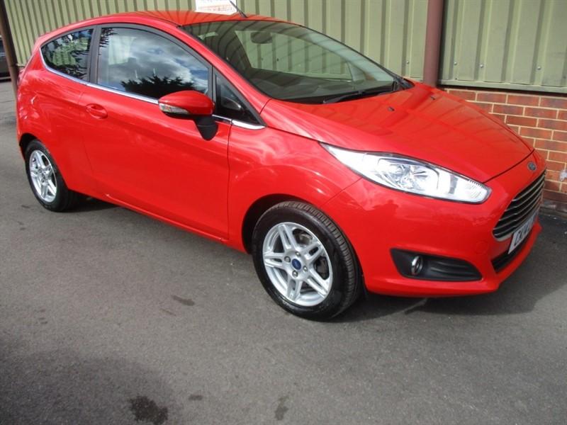 used Ford Fiesta ZETEC 1.2 3 Door in wokingham-berkshire