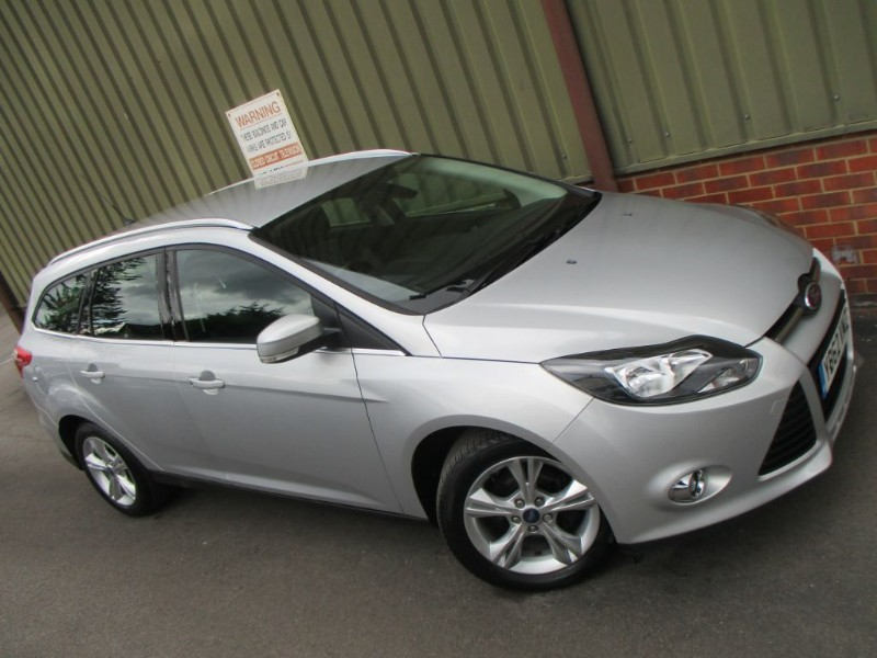 used Ford Focus ZETEC ECONETIC TDCI in wokingham-berkshire