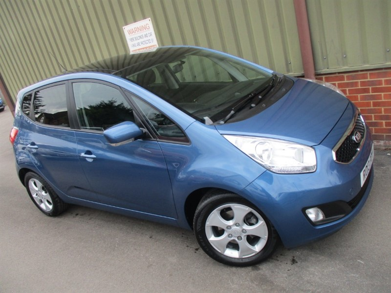 used Kia Venga CRDI 3 ECODYNAMICS PanoRoof & Leather in wokingham-berkshire