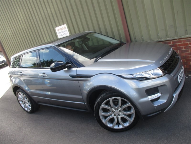 used Land Rover Range Rover Evoque SD4 DYNAMIC in wokingham-berkshire