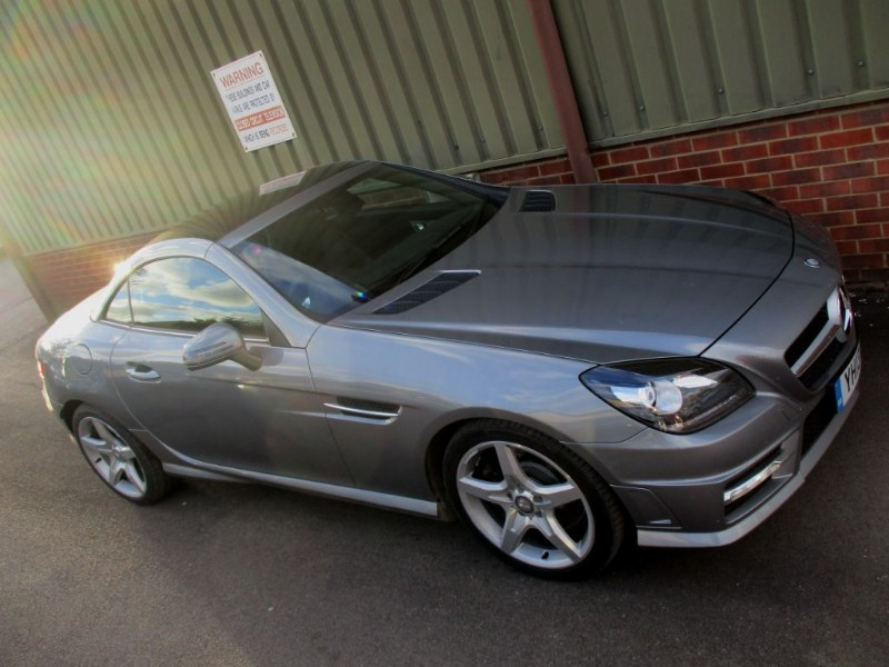 used Mercedes SLK SLK250 CDI BLUEEFFICIENCY AMG SPORT in wokingham-berkshire