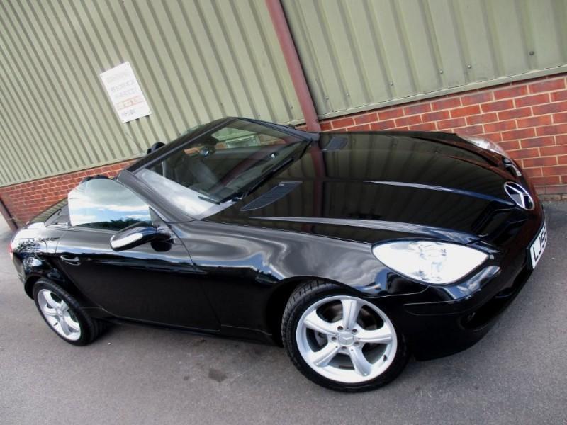 used Mercedes SLK SLK200 KOMPRESSOR in wokingham-berkshire