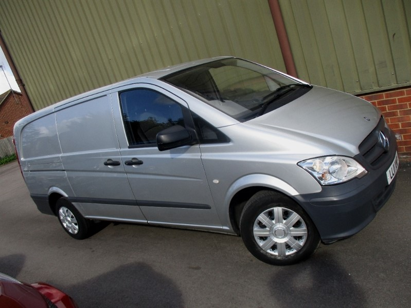used Mercedes Vito 110 CDI LWB in wokingham-berkshire