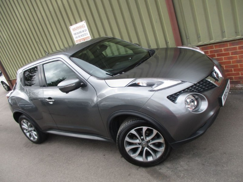 used Nissan Juke TEKNA XTRONIC in wokingham-berkshire