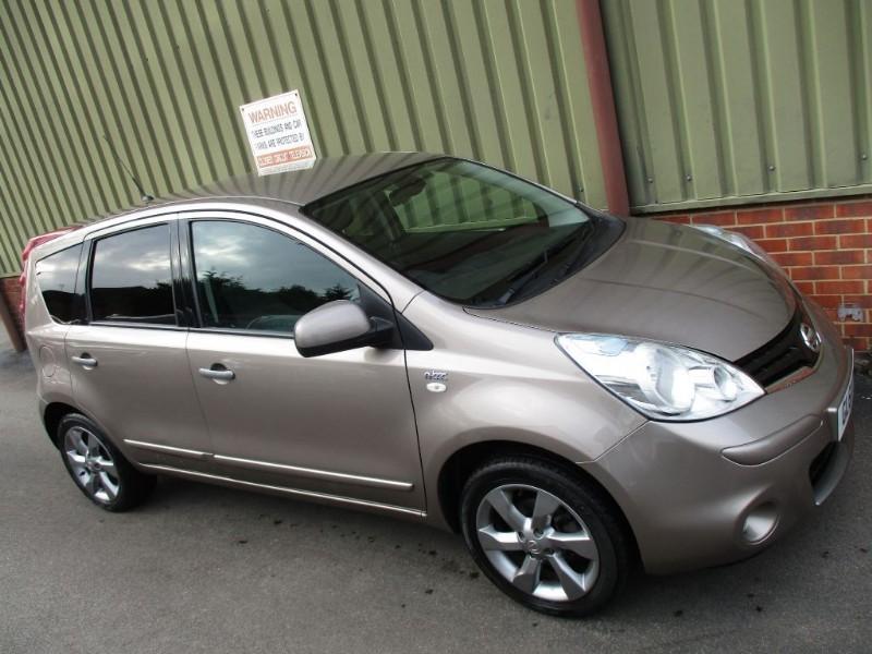 used Nissan Note N-TEC SatNav in wokingham-berkshire