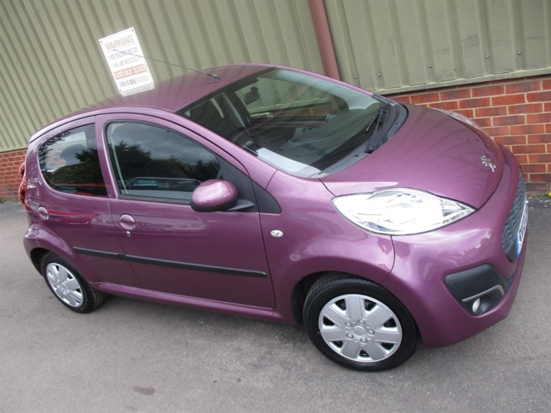 used Peugeot 107 ACTIVE in wokingham-berkshire