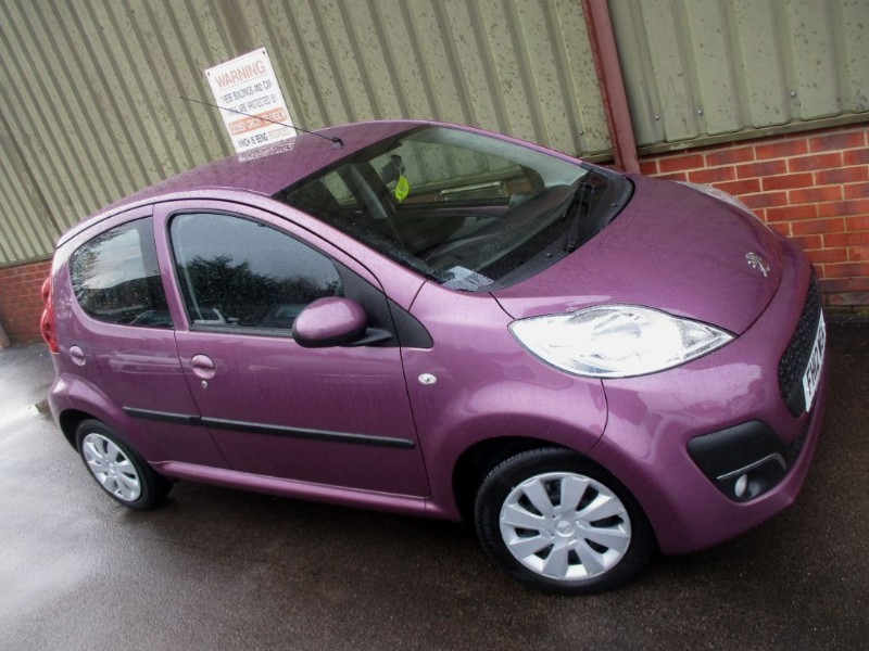 used Peugeot 107 ACTIVE A/C 5-Door in wokingham-berkshire