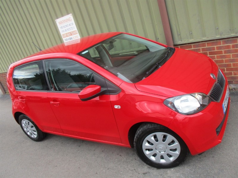 used Skoda Citigo SE GREENTECH 5 Door in wokingham-berkshire