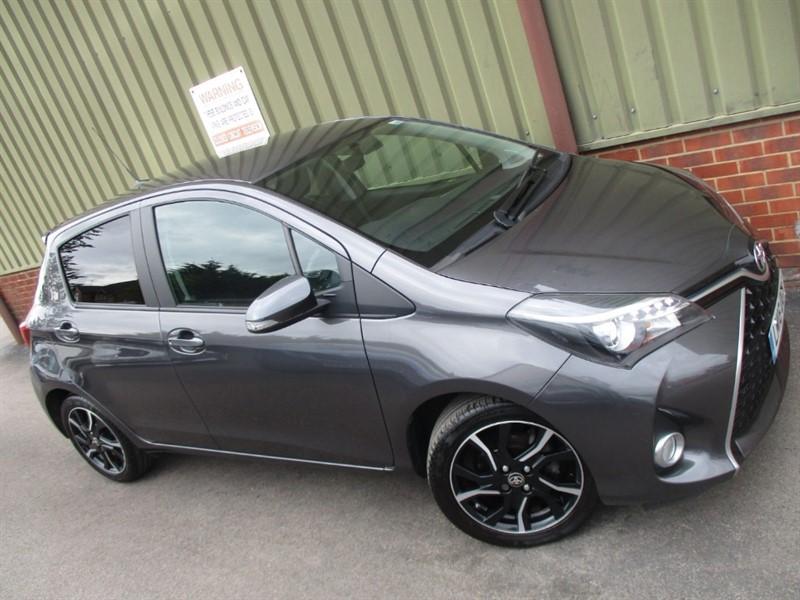 used Toyota Yaris VVT-I DESIGN in wokingham-berkshire