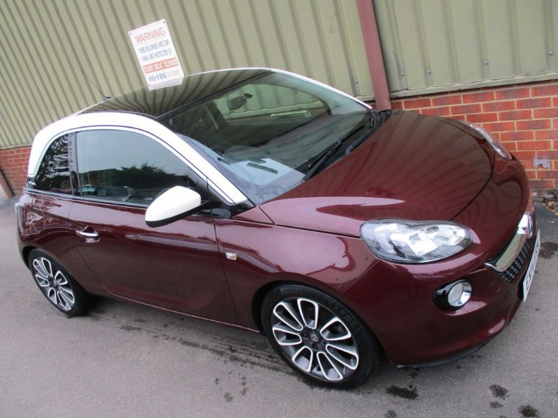 used Vauxhall Adam GLAM S/S in wokingham-berkshire