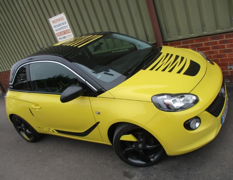 used Vauxhall Adam SLAM in wokingham-berkshire