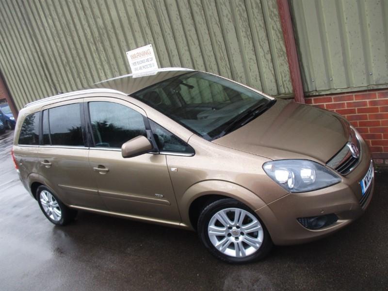 used Vauxhall Zafira DESIGN NAV CDTI ECOFLEX in wokingham-berkshire
